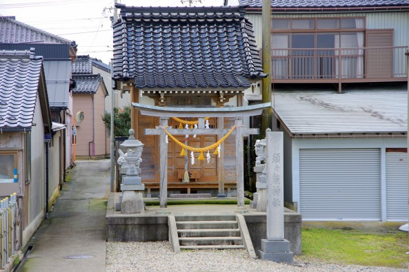 地蔵町の須々能神社